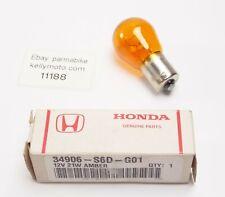 Honda Civic Front Indicator Orange Bulbs 2001-2010 FLASHER signal amber 12V 21W