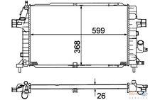HELLA Radiador, refrigeración del motor OPEL ASTRA ZAFIRA 8MK 376 781-041