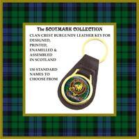 Scottish Clan Crest Key Fobs