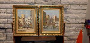 Carlos Ciappa, Oil Paintings, Pair of Paintings