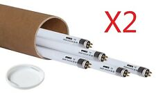 iPower 4FT 46IN 54W T5 Fluorescent High Output HO Grow Light Bulbs 6400K 10-Pack