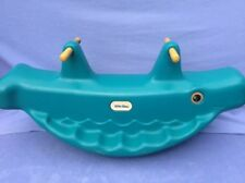 + Little Tikes - Whale Double Rocking Horse - Prefer Collection +
