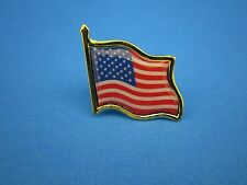 AMERICAN FLAG LAPEL PIN - HIGH QUALITY -  UNITED STATES / USA TIE PIN