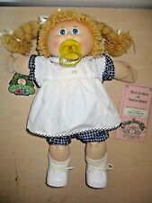 VINTAGE 1985 CABBAGE PATCH KIDS PACI DOLL *ESSA FLORENCE* BY COLECO. NOS WO BOX.