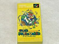Super Mario World Nintendo SFC Super Famicom SNES NTSC-J Japan Boxed / no Manual