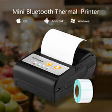 Mini 58mm Bluetooth Thermal Printer Printer for Android / iOS Mobile Phone