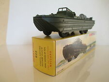 FRENCH DINKY TOYS 825 DUKW AMPHIBIOUS MILITARY TRUCK MIB 9 EN BOITE SO NICE L@@K