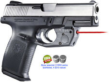 ARMALASER TR15 S&W SIGMA SW9VE SW40VE SUPER-BRIGHT RED LASER GRIP ON/OFF SMITH