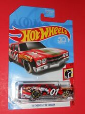 HOT WHEELS 2017 '70 CHEVELLE SS WAGON HW DAREDEVILS 1/5 SHIPS FREE