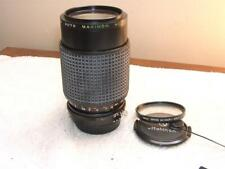 Nikon mount Makinon 80-200mm Zoom/Macro Ais 1:4.5 LENS  MF+UV Filter