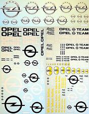 Opel #5 Sponsors New Design Sponsoren Bogen 1:43 Decal Abziehbilder