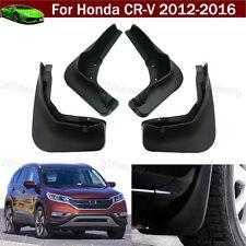 4Pcs Car Mud Flap Splash Guard Fender Mudguard Mudflap For Honda CRV 2012-2016