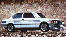 7pcs/7tlg 2d Decal stickers DARK BMW Alpina E21 E30 E24 E10 Stickers Set