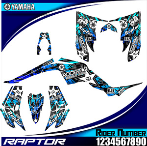 yamaha raptor 350 decals graphics stickers atv wrap full kit raptor350 new