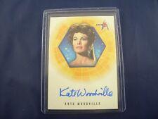 Star Trek 35th Anniversary A34 Autograph Card Kate Woodville as Natira