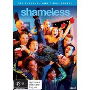 SHAMELESS SEASON 11 DVD, NEW & SEALED ** NEW RELEASE ** 210721, FREE POST