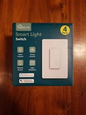 Smart Dimmer Switch by Treatlife - WiFi Light Switch 4 pack - Alexa, Google