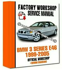 #FACTORY WORKSHOP MANUAL service repair FOR BMW series 3 E46 M3 1999-2005 Wiring
