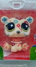 Littlest Pet Shop Shimmer N Shine 2343 Glitter Sparkle Polar Bear LPS New 4+