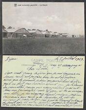 Old Aviation Postcard - France, Airplane - Hangars in Dijon