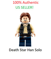 Lego Star Wars Death Star Han Solo Minifigure 75159 100% Authentic Fast Shipping