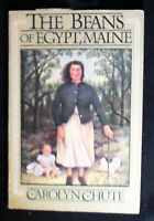 The Beans of Egypt, Maine Carolyn Chute PBk 1985, INSCRIBED by author VG+