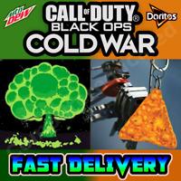 Call Of Duty Black Ops Cold War DoritosDewDrop Doritos Weapon Charm & Dew Emblem