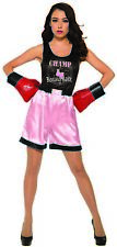 Forum Novelties Woman's Pink Boxer Costume for Adults