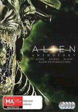 ALIEN ANTHOLOGY Quadrilogy 1 2 3 4 : NEW DVD