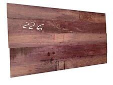 "5 PACK, Purpleheart Thin Stock Lumber Board/Wood Blanks/Lathe 26""x3""x3/8"" , #226"