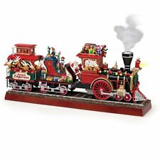 Mr. Christmas Animated Musical Santa's Express with Working Smokestack