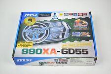 MSI 990XA-GD55 Military Grade Motherboard AM3 USB 3.0 AM3+ with 6GB RAM