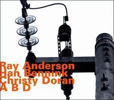 ABD by Han Bennink/Ray Anderson/Christy Doran (CD, Aug-2011, Hatology)