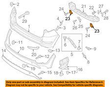 HYUNDAI OEM 16-18 Tucson Rear Bumper-Outer Bracket Left 86637D3100