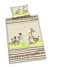 Herding - Parure de lit Jana Zebra en lin Beige Taie D'oreiller 40 x 60 cm Hou