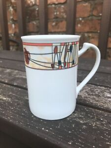 Glencairn (of Scotland) Charles Rennie Mackintosh Art Design Porcelain Mug