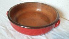Ancien Plat en céramique pour cuisson au four