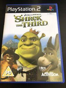 Shrek The Third (Sony PlayStation 2, 2007)