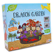 Grow & Decorate Your Own Dragon Garden Castle Plants DIY Creative Kids Gift