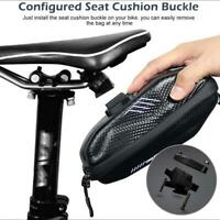 Bicycle Waterproof Storage Saddle Bag Bike Seat Cycling Tail Rear Pouch Large