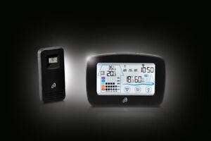 Neu Funk Wetterstation mit Lüftungsempfehlung Innen/Außen Touchscreen Bedienung