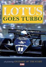 Lotus Goes Turbo (New DVD) F1 Formula One Lotus JPS Prost Senna Mansell