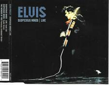 ELVIS PRESLEY - Suspicious minds / Live CD SINGLE 3TR BMG 2001
