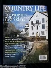 COUNTRY LIFE - ARTISTS IN EAST ANGLIA - APRIL 3 2003