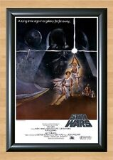 Star Wars Episode IV A New Hope 1977 Poster Photo Print A4 297x210mm