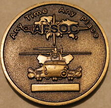 21st Special Operations Squadron Mildenhall Pave Low PJ Air Force Challenge Coin