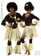 COSTUME ZULU Carnevale Travestimenti Costumi Rafia INDIGENO PRIMITIVO 3374S