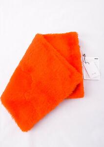 CELINE Women's Fur Muff 100% Lambskin Leather & Shearling Made In Italy