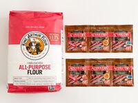 King Arthur Flour All Purpose Unbleached flour + Active Dry Baking Yeast bread