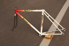 """ROSSIN RECORD RESTORED BIKE FRAME-SMALL SIZE-""""CCCP"""" PAINTJOB-EROICA-CAMPAGNOLO"""